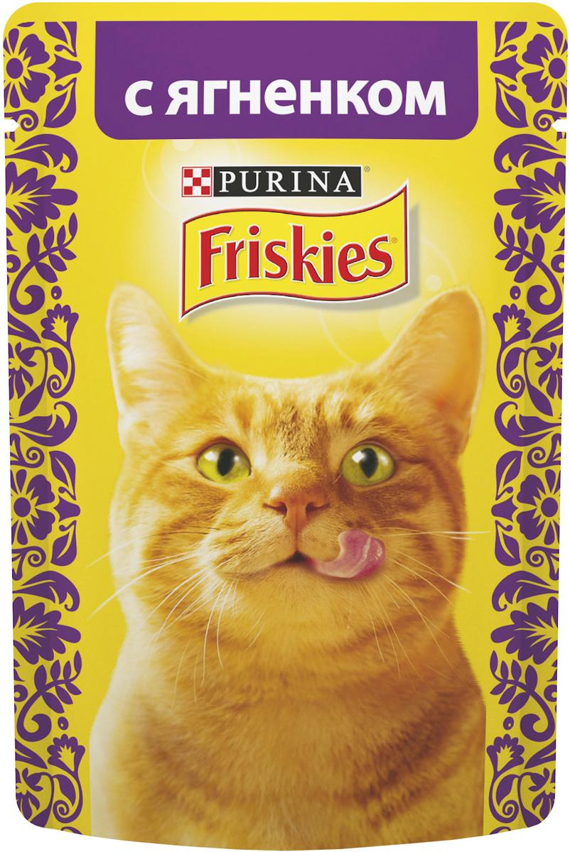 """Консервы для кошек Friskies """"Adult"""", с ягненком, 85 г"""