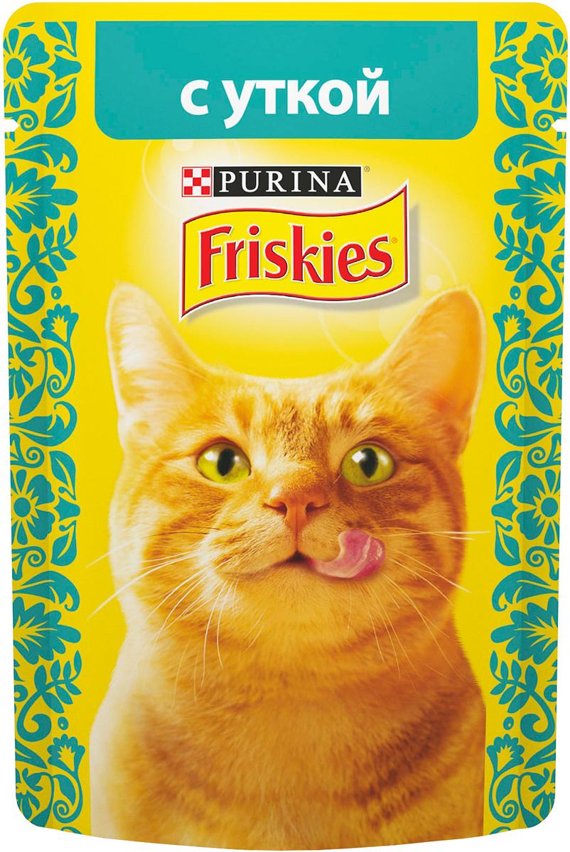 """Консервы для кошек """"Friskies"""", с уткой, 85 г"""