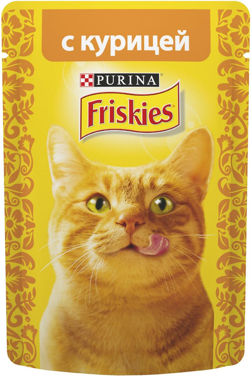 """Консервы для кошек """"Friskies"""", с курицей, 85 г"""