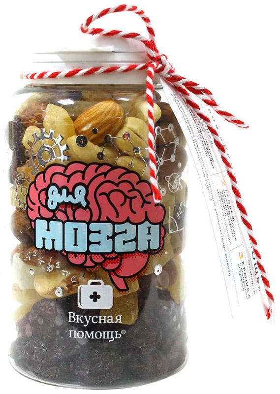 Вкусная помощь орехи Для мозга 165 г вкусная помощь антистресс сахарная вата для мужчин набор 32 г