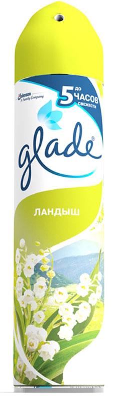 Освежитель воздуха Glade Ландыш, 300 мл освежитель воздуха glade цитрусовый 300 мл