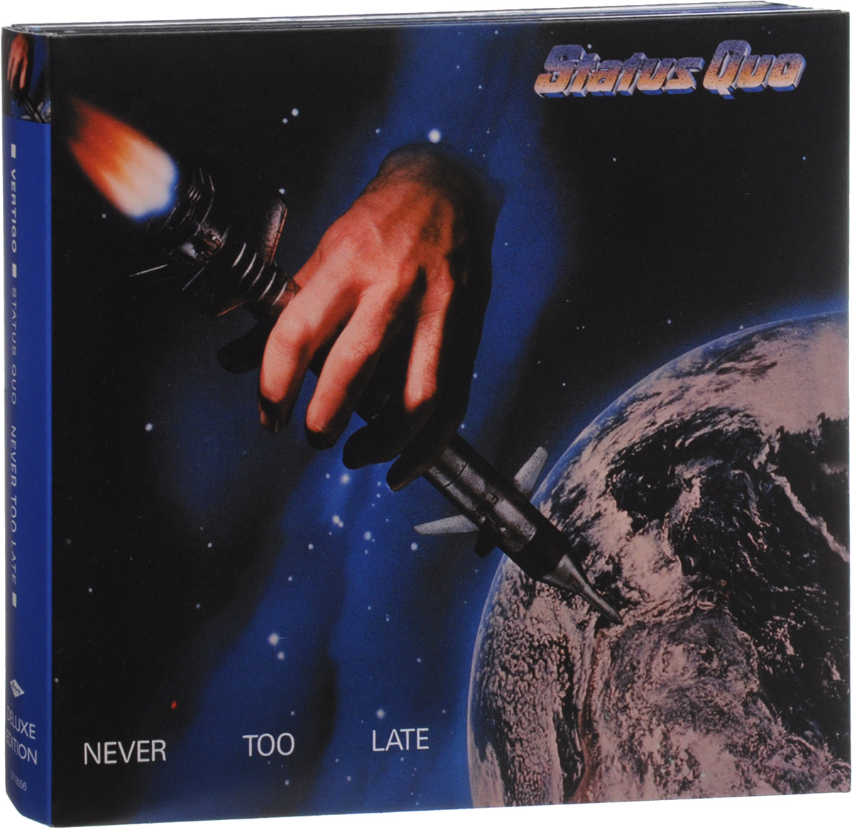 Status Quo Status Quo. Never Too Late. Deluxe Edition (3 CD) status quo status quo hello deluxe edition 2 cd