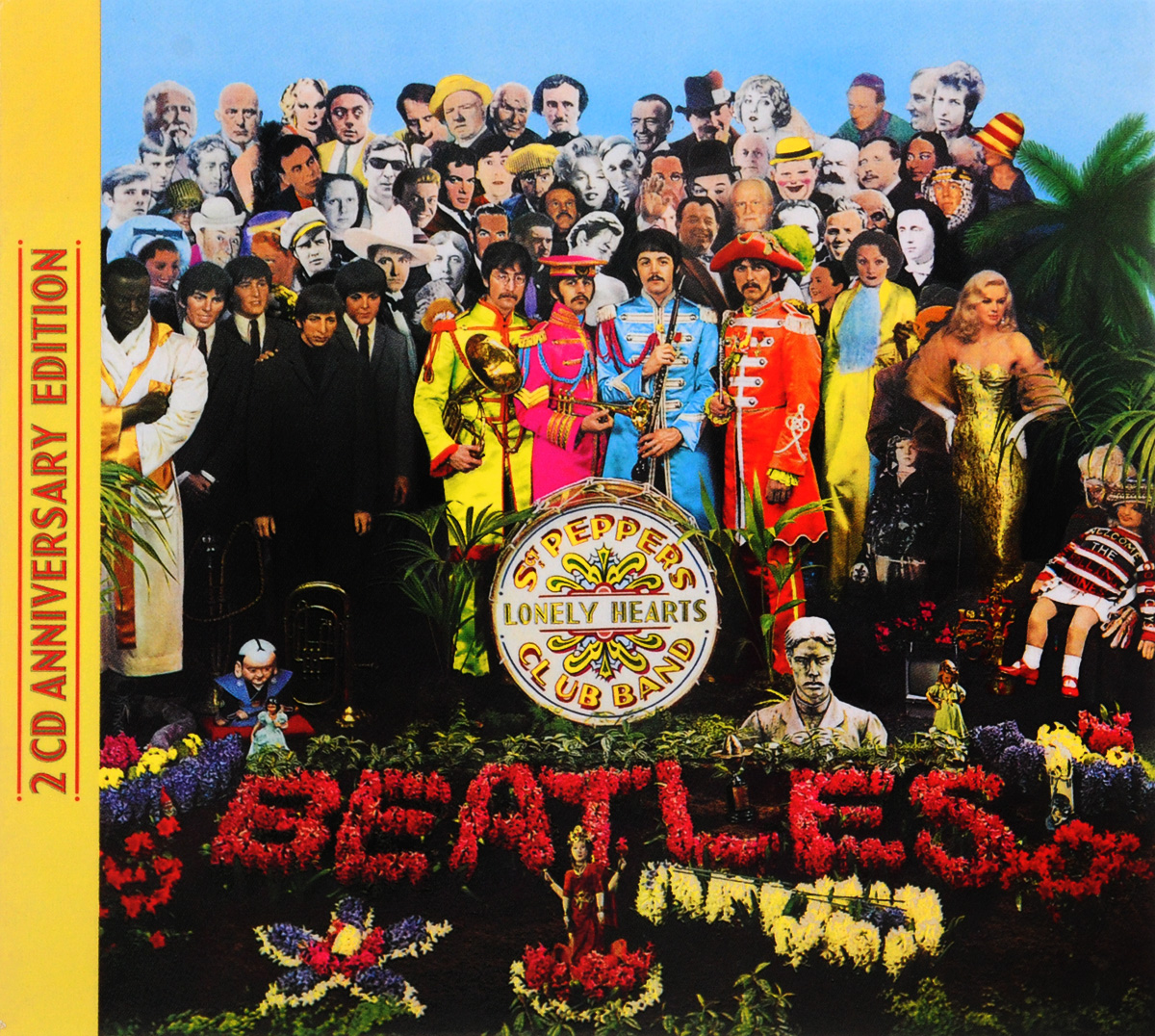 The Beatles The Beatles. Sgt. Pepper's Lonely Hearts Club Band (2 CD) the beatles the beatles 1967 1970 2 cd