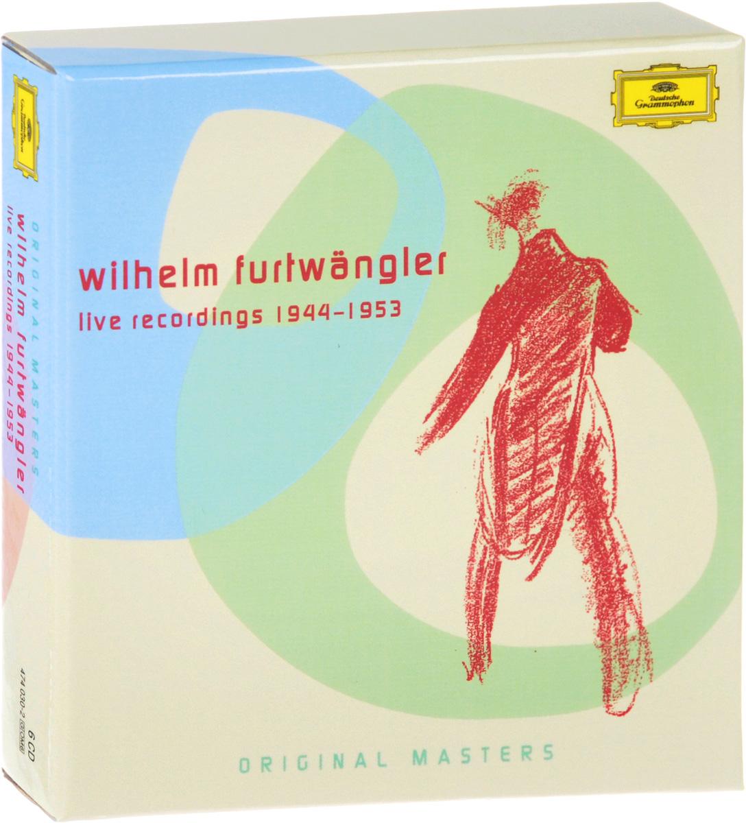 Wiener Philharmoniker,Вильгельм Фуртвенглер,Berliner Philharmoniker Wilhelm Furtwangler. Live Recordings 1944-1953 (6 CD) вильгельм фуртвенглер николай голованов вильгельм фуртвенглер xx s century greatest conductors