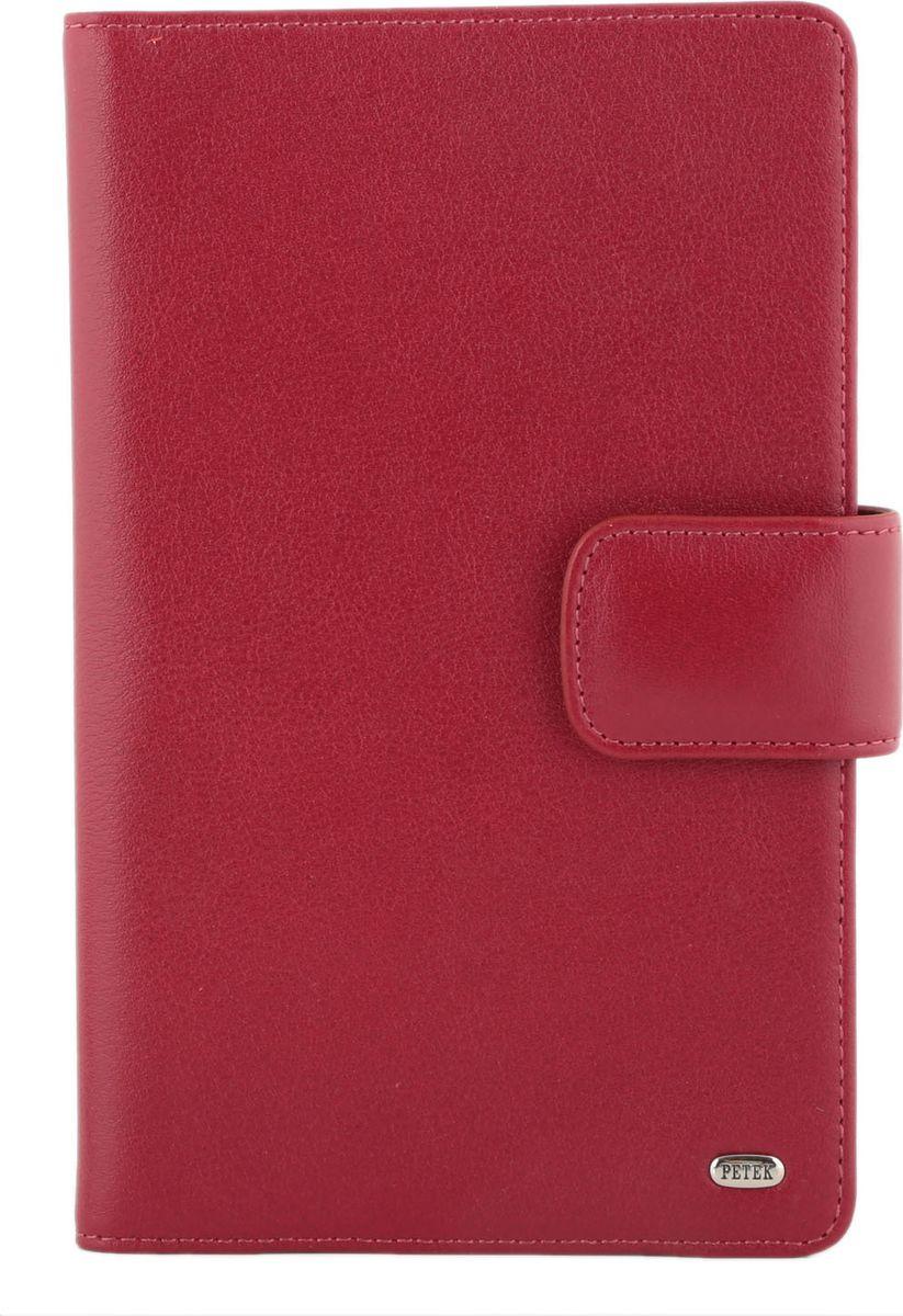 цена Визитница Petek 1855, цвет: красный. 1083.4000.10 онлайн в 2017 году