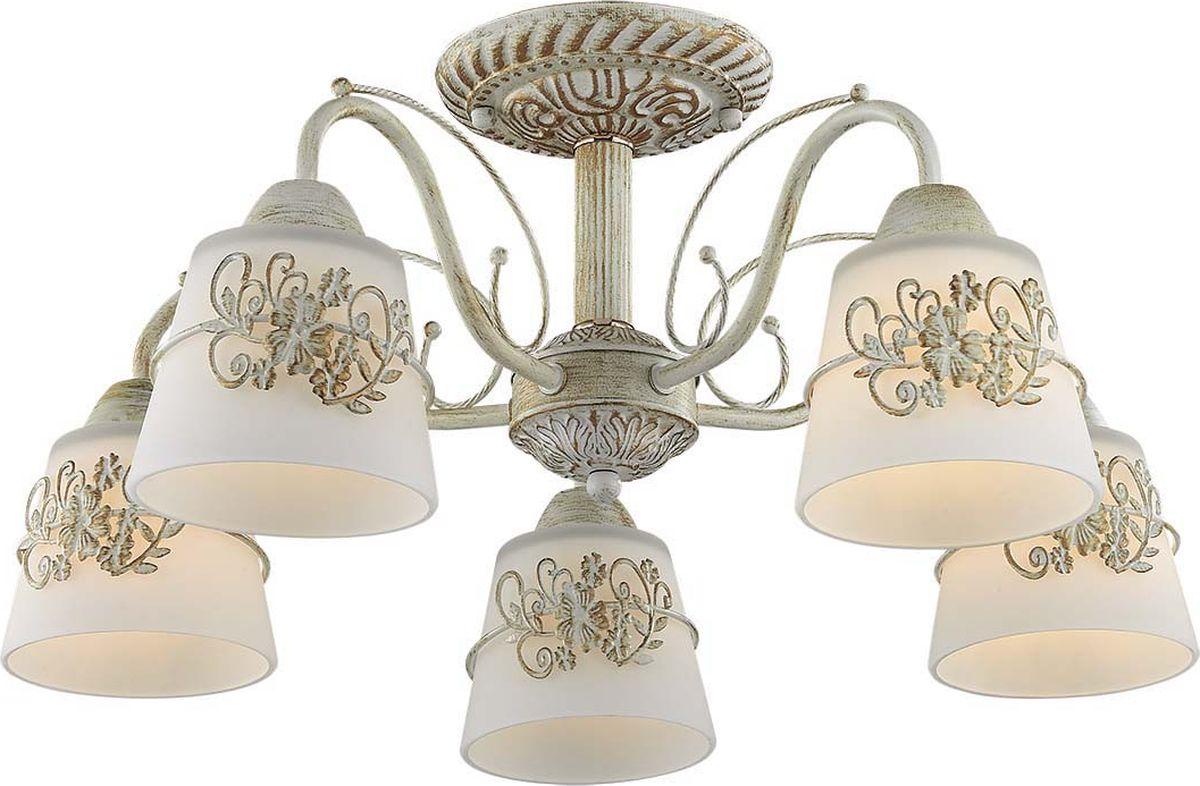 Люстра потолочная Lumion Veva, цвет: белый, E14, 40 Вт. 3003/5C люстра потолочная j light 1260 5c