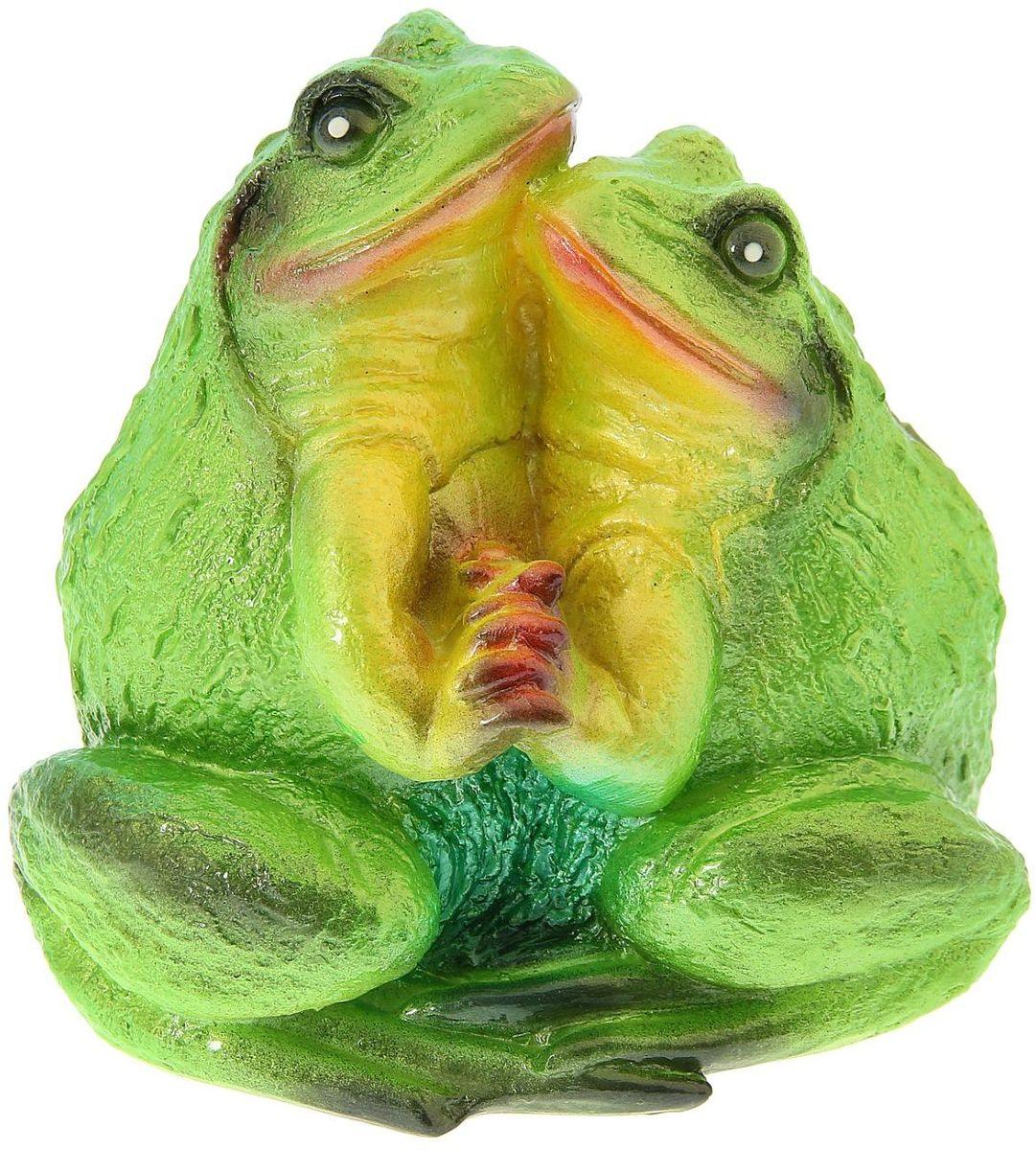 """Фигура садовая Premium Gips """"Пара жаб"""", 14 х 23 х 20 см"""