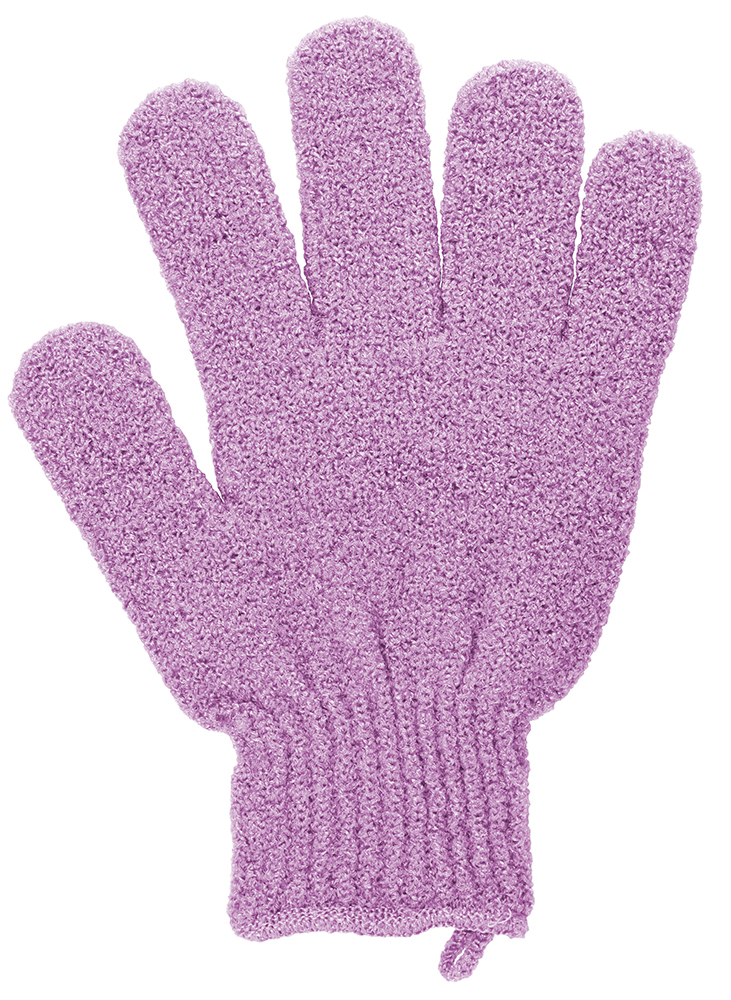 QVS Перчатки отшелушивающие синтетические