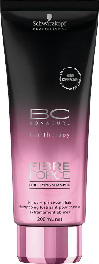 Bonacure Укрепляющий шампунь Fibre Force, 200 мл
