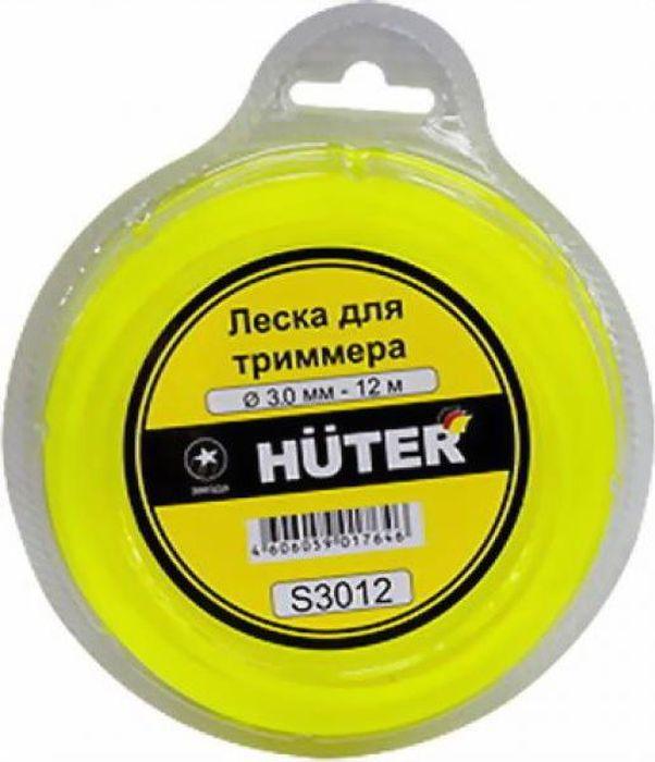 "Леска для триммера Huter ""Звезда"", 3 мм х 12 м . S3012"