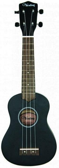 Veston KUS 15BK укулеле veston c 45a bk акустическая гитара