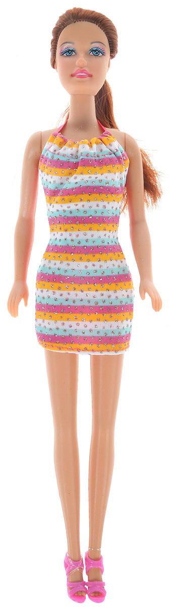 Defa Toys Кукла Lucy цвет платья мультиколор платье lucy