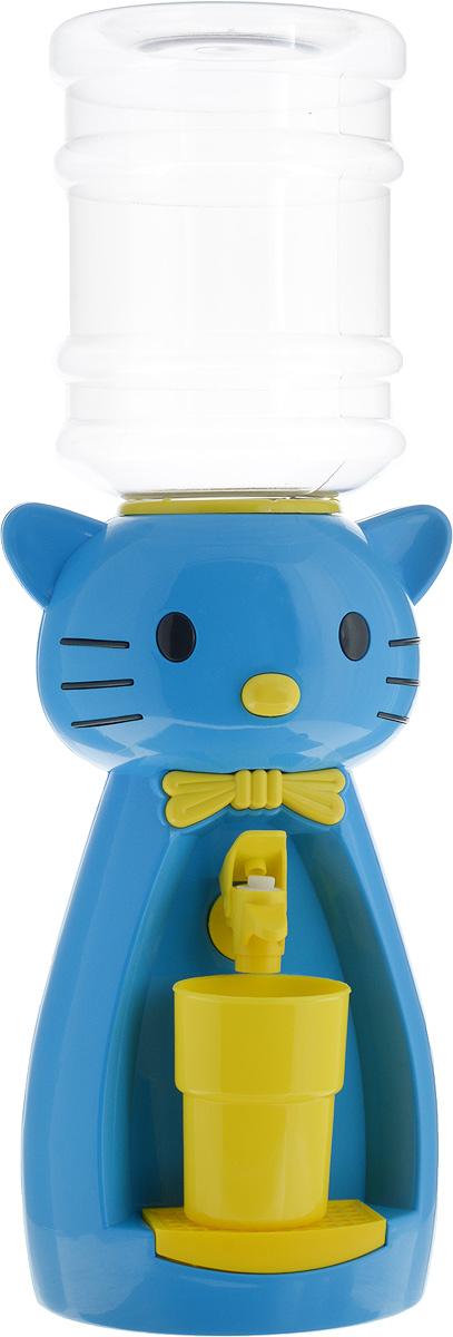 Детский кулер для воды Vatten Kids Kitty, Blue, со стаканчиком все цены