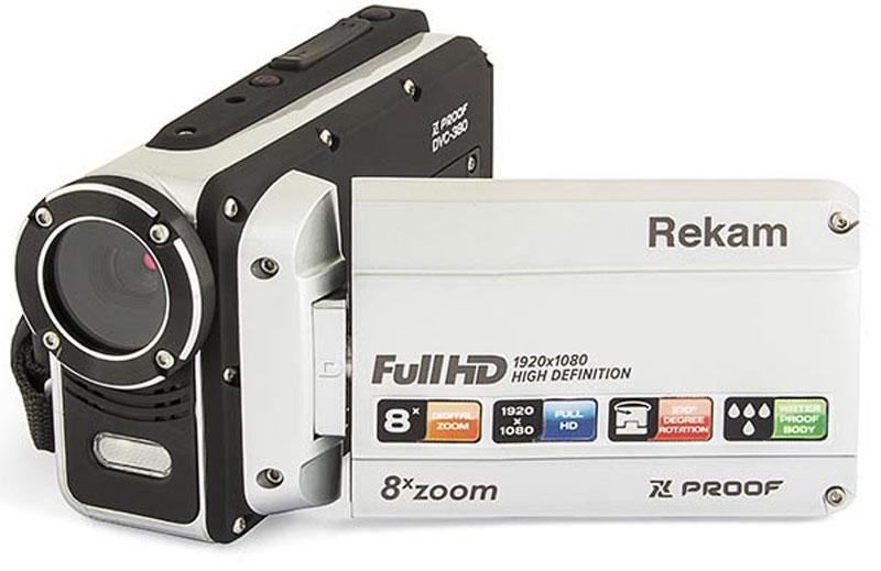 лучшая цена Rekam Xproof DVC-380 цифровая видеокамера