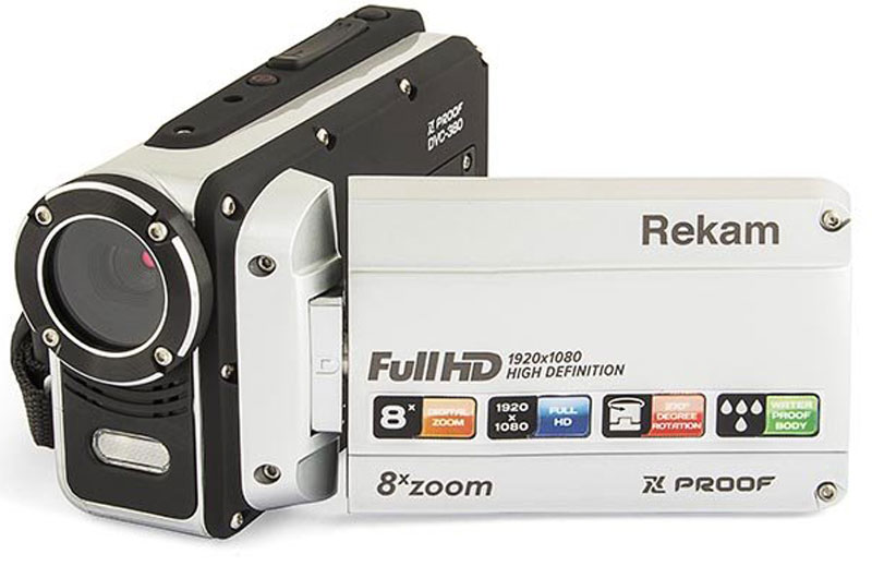 Rekam Xproof DVC-380цифровая видеокамера Rekam