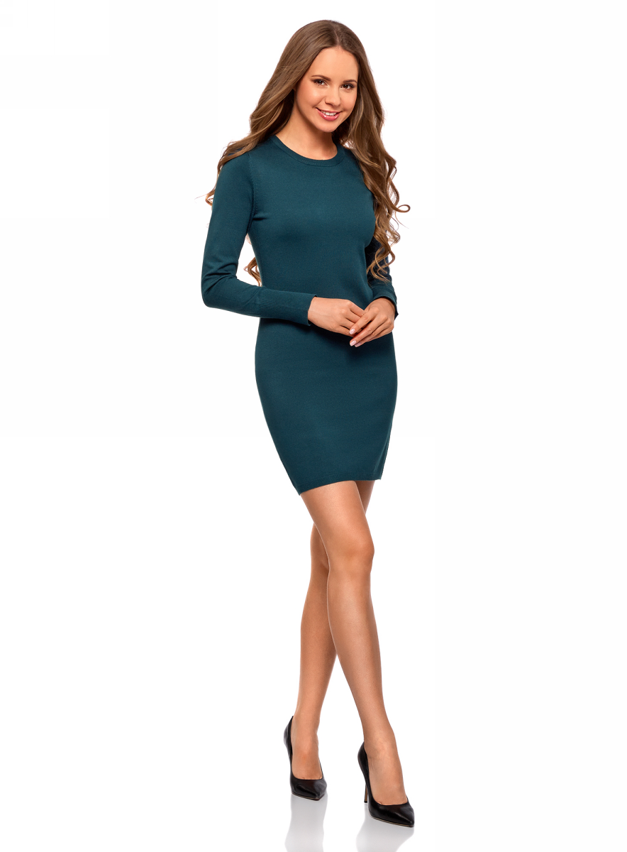Платье oodji духовой шкаф hansa boes68120090