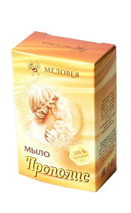 Медовея Мыло с прополисом, 80 мл недорго, оригинальная цена