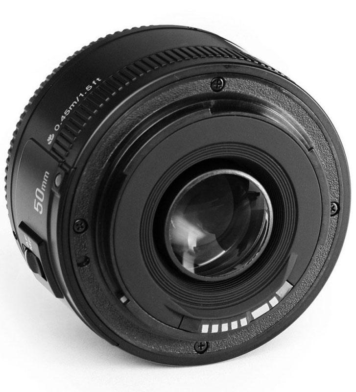 Объектив YongNuo 50F1. 8 для Canon Yongnuo