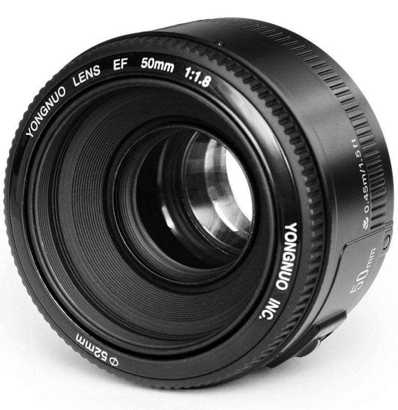 Объектив YongNuo 50F1.8 для Canon