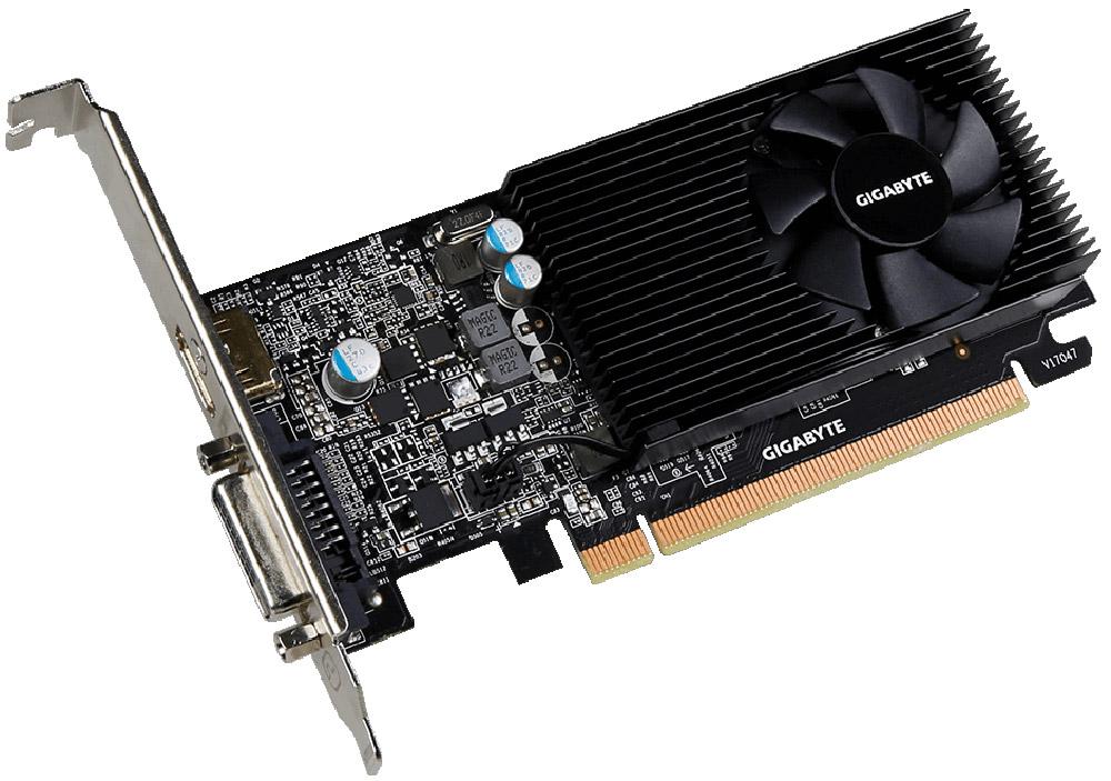 Видеокарта Gigabyte GeForce GT 1030 Low Profile 2GB, GV-N1030D5-2GL