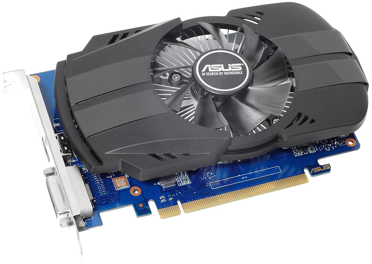 Видеокарта ASUS Phoenix GeForce GT 1030 OC 2GB, PH-GT1030-O2G