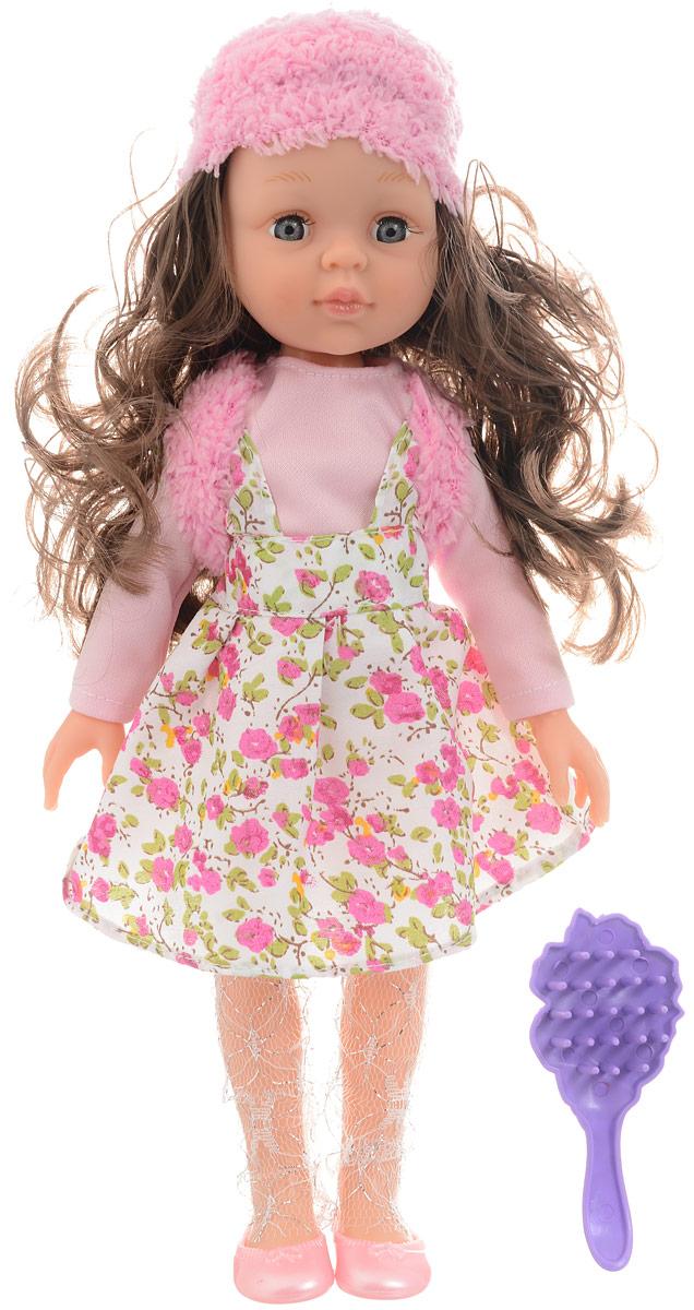 ABtoys Кукла Времена года цвет наряда розовый белый