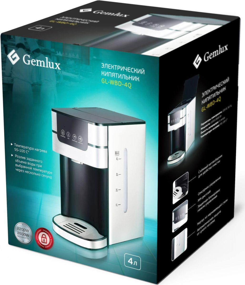 Электрокипятильник Gemlux GL-WBD-4Q, Silver Gemlux