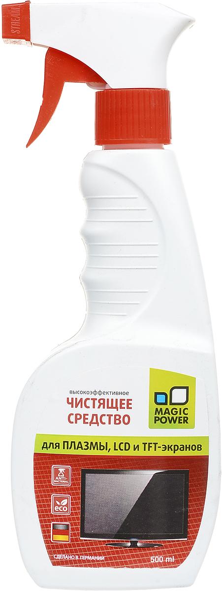 Чистящее средство для плазмы и LCD Magic Power, 500 мл glorix чистящее средство для пола деликатные поверхности 1л