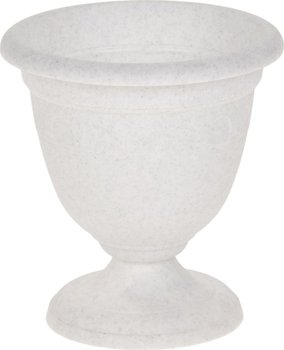 Вазон Martika Колывань, цвет: мрамор, 0,8 л вазон martika колывань цвет мрамор 8 1 л