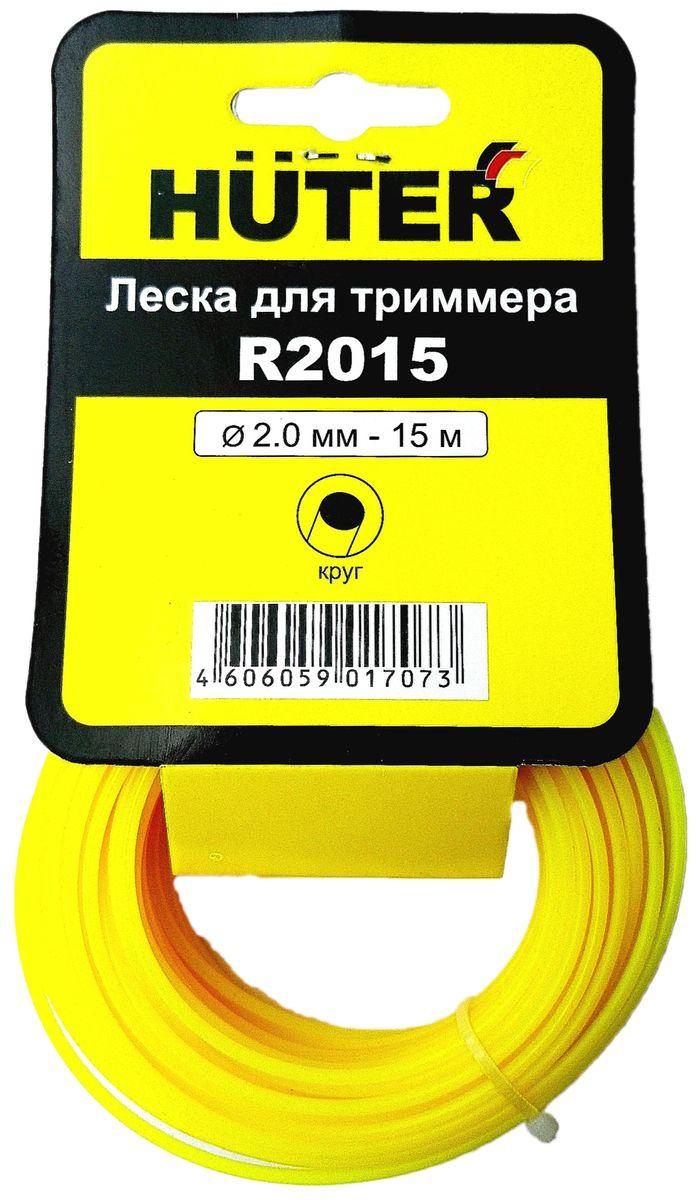 цена на Леска для триммера Huter Круг, 2 мм х 15 м. R2015
