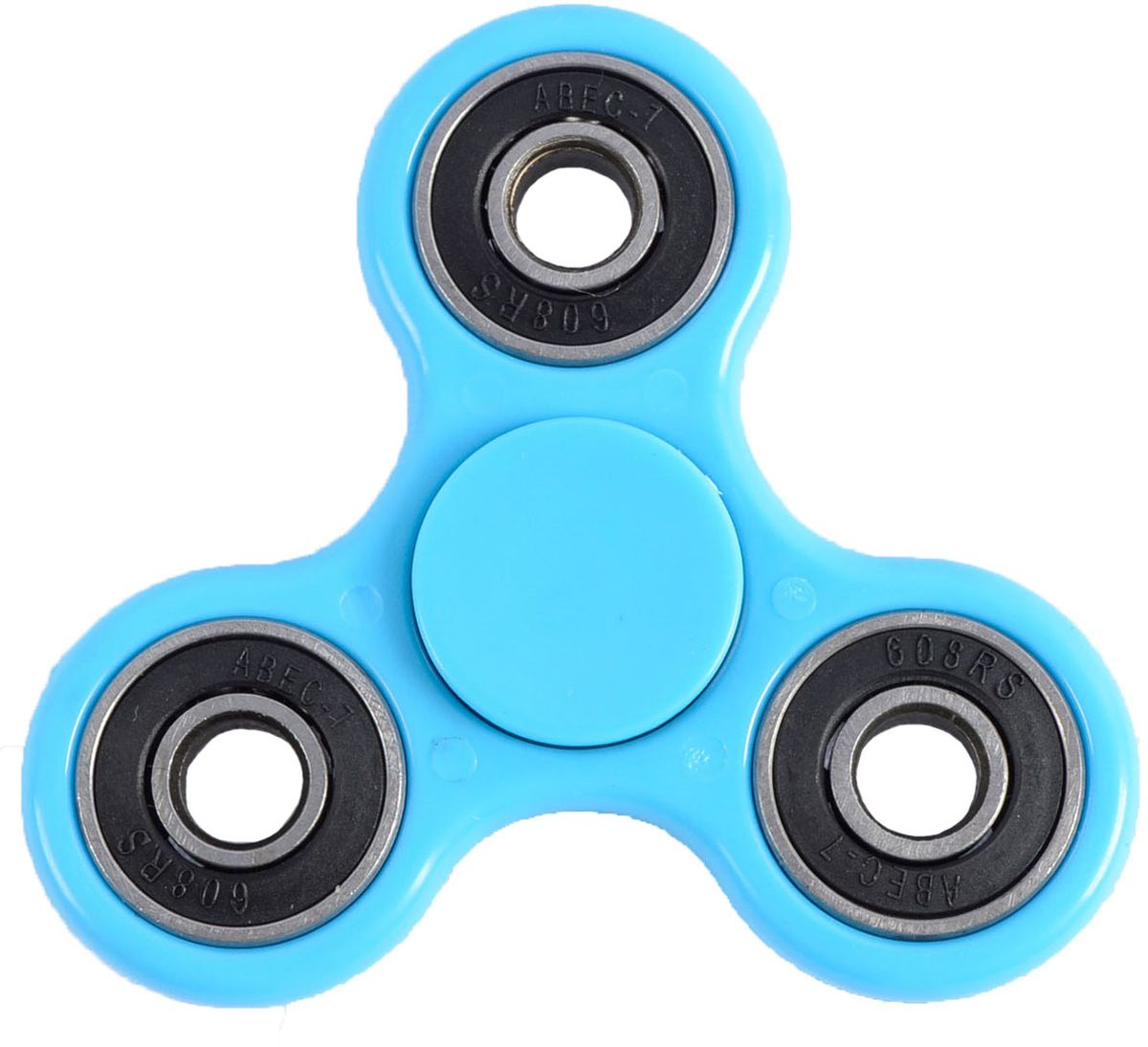 Fidget Spinner Спиннер цвет синий colorful hexagon fidget spinner adhd stress relief toy relaxation gift for adults
