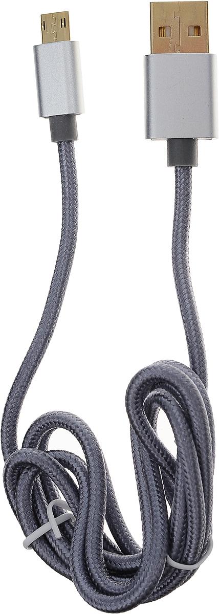 SAGO SG-REVMU-1M-SV, Gray кабель USB-MicroUSB (1 м)