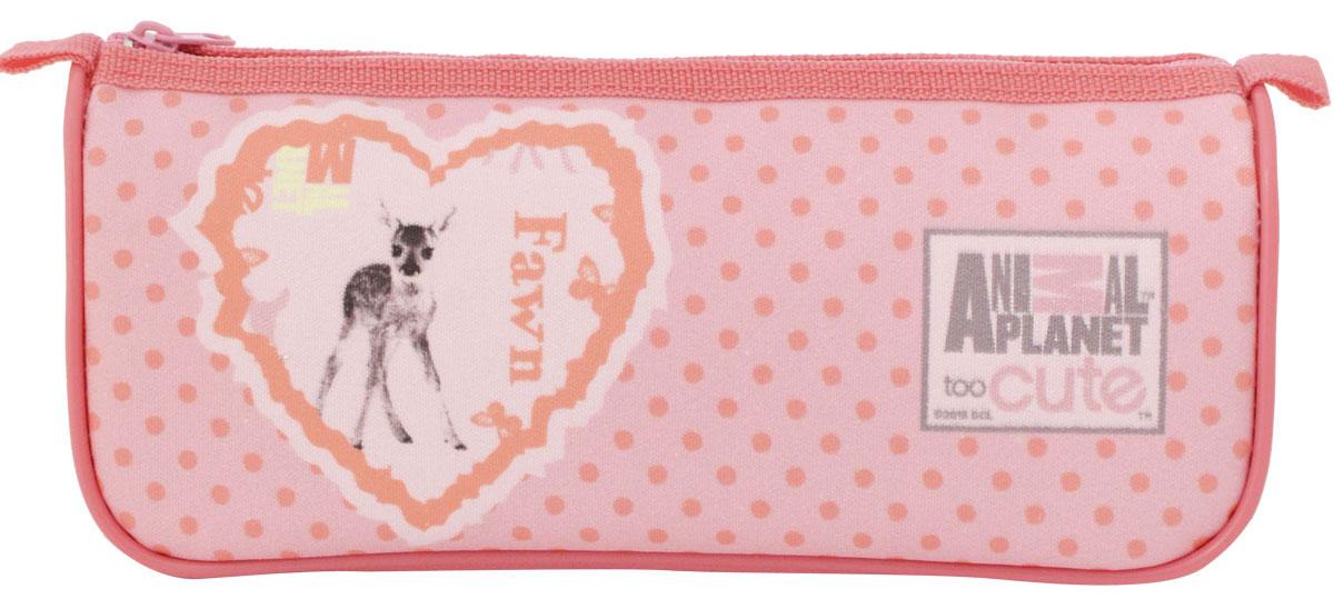 Action! Пенал Animal Planet Too Cute Олененок цвет розовый action пенал тубус tatty teddy цвет розовый голубой