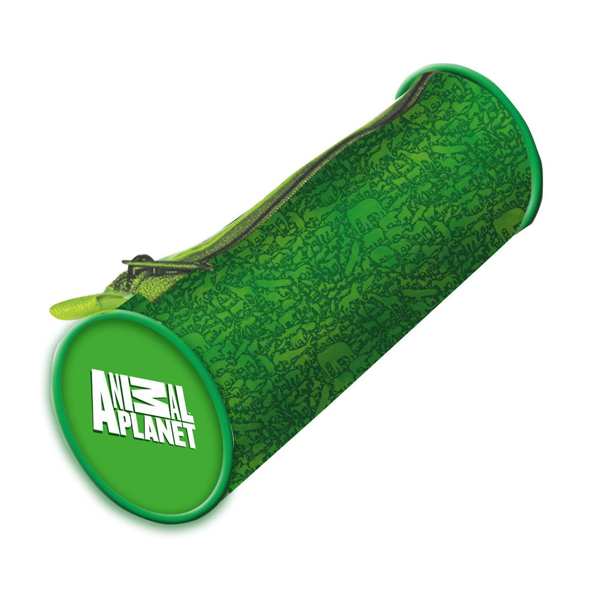 Action! Пенал-тубус Animal Planet цвет зеленый action пенал тубус action