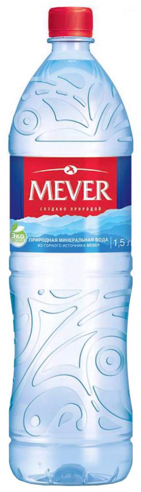 Мевер вода негазированная, 1,5 л