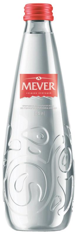 Мевер вода негазированная, 0,5 л