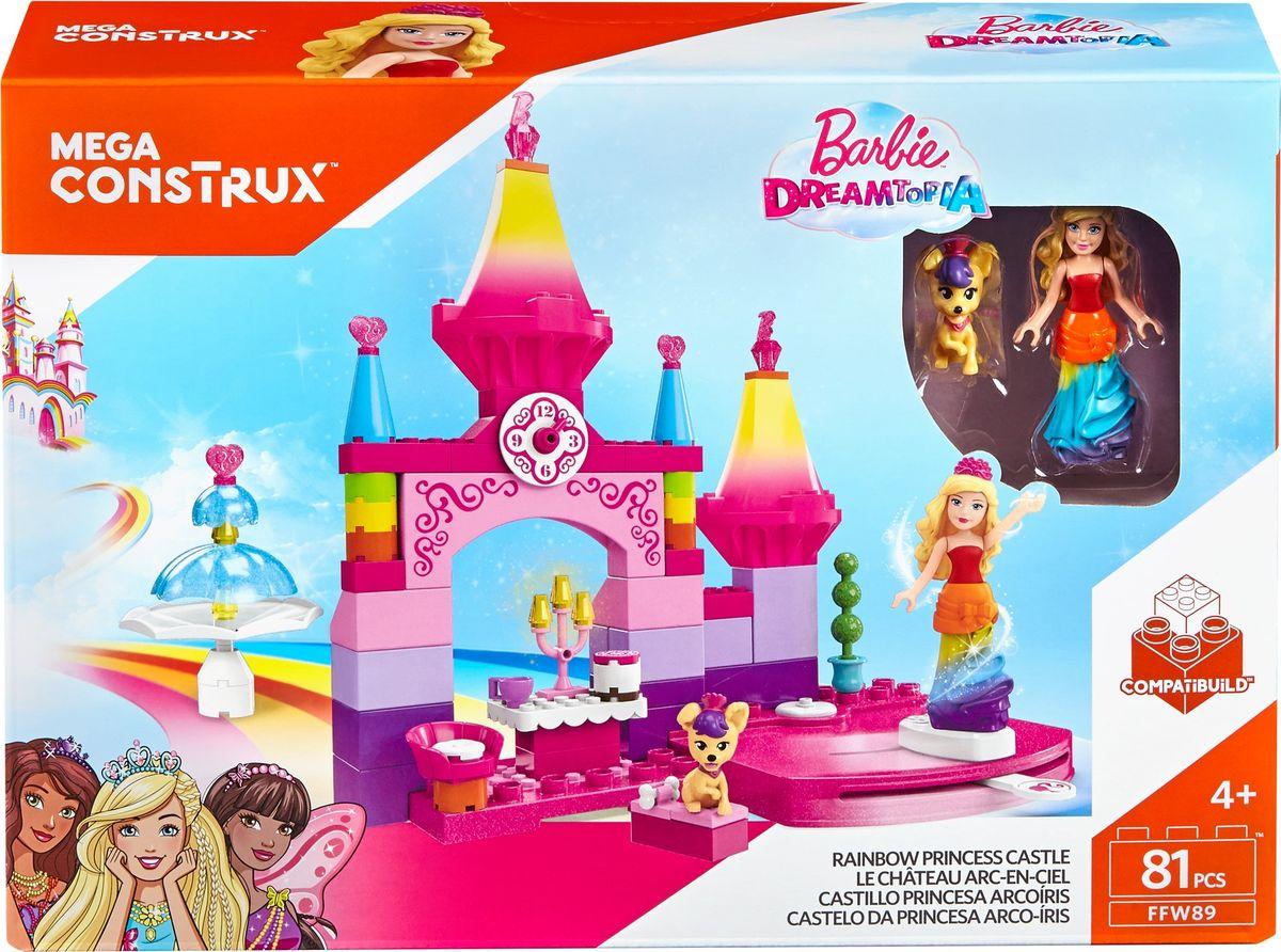 Mega Bloks Barbie Конструктор Королевский бал конструкторы mega bloks пиратский корабль