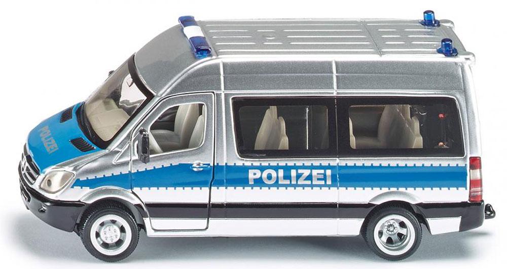 Siku Полицейский микроавтобус Mercedes-Benz Sprinter