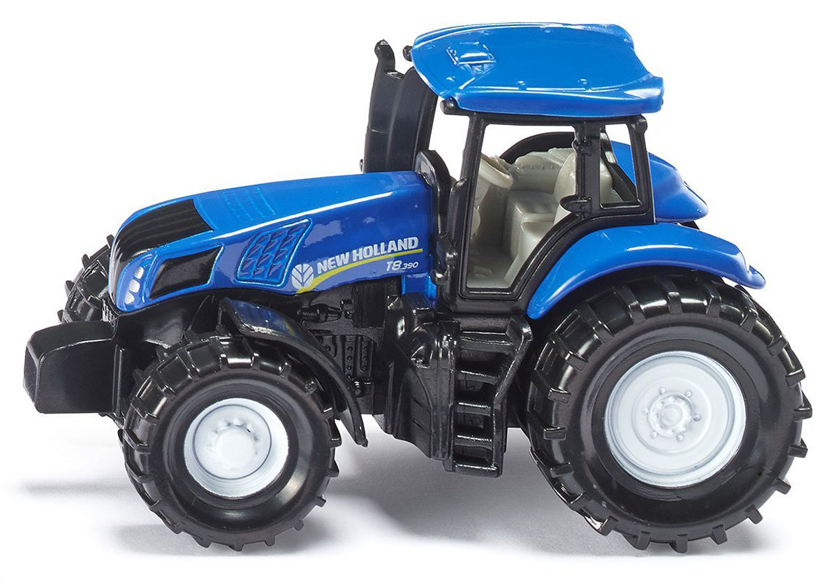Siku Трактор New Holland T8.390 1012 siku трактор new holland t7070 с опрыскивателем kverneland