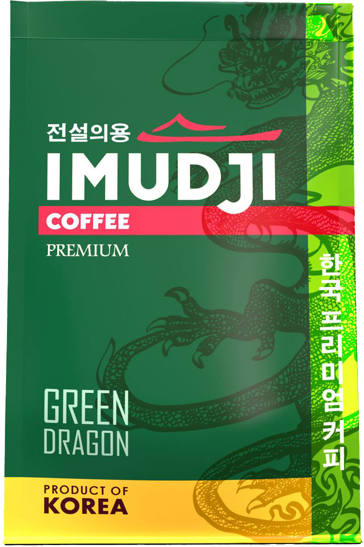 Imudji Green Dragon кофе растворимый, 100 г imudji red dragon кофе растворимый 100 г