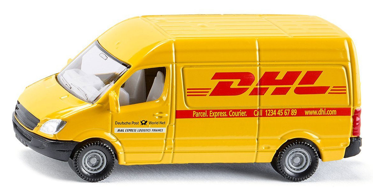 Siku Почтовый фургон DHL siku полицейский фургон