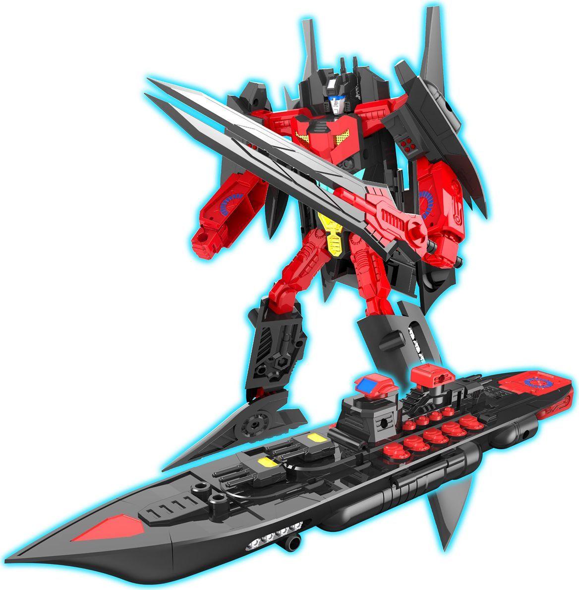 цена на Склад уникальных товаров Робот-трансформер Авианосец XL цвет красный черный
