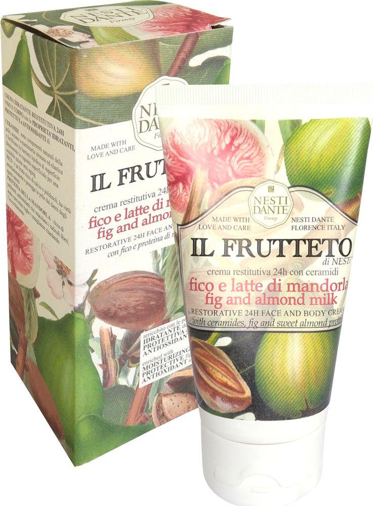 Nesti Dante Крем для лица и тела Fig and Almond Milk Инжир и миндальное молоко, 150 мл