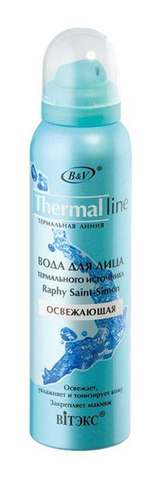 Витэкс Вода для лица Thermal Line/Термальная линия RaphySaint-Simon освежающая, 150 мл термальная вода для лица виши