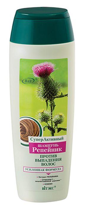 цена на Витэкс СуперАктивный Шампунь Репейник против выпадения волос, 400 мл