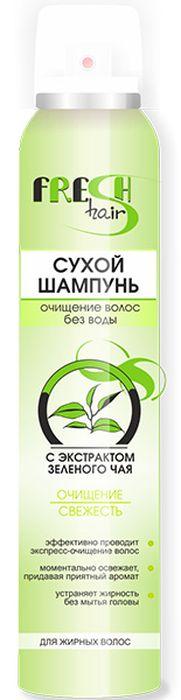 Витэкс Fresh Hair Сухой шампунь с экстрактом зеленого чая, 200 мл Витэкс