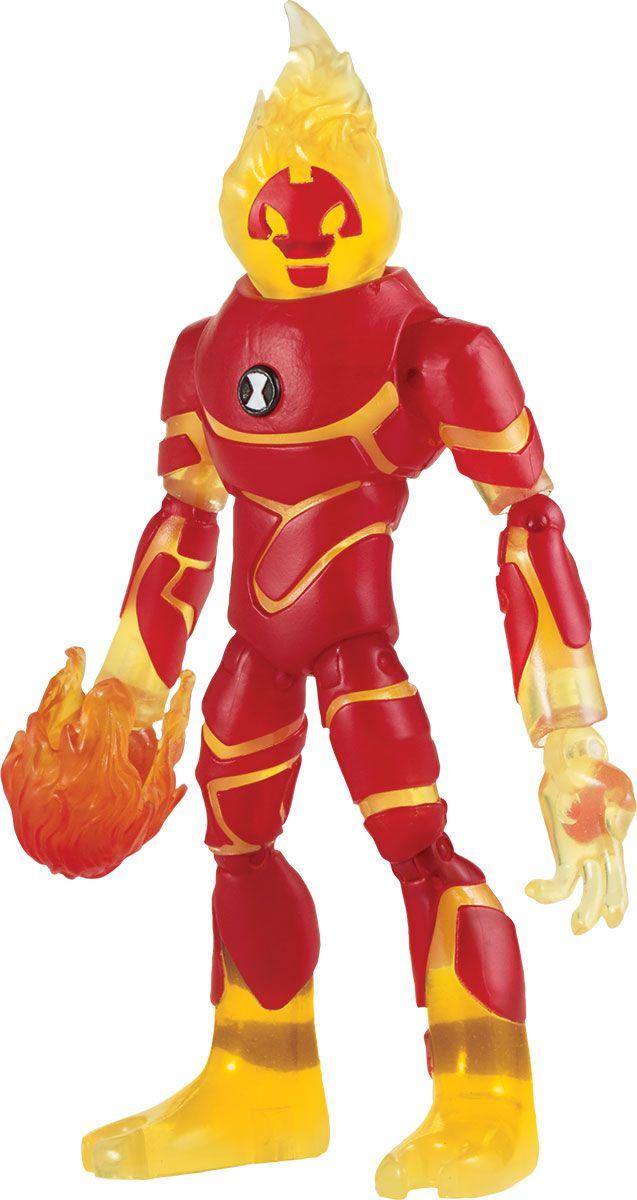 Ben 10 Фигурка Человек-огонь 76102 набор ben 10 омнизапуск человек огонь и молния ben 10