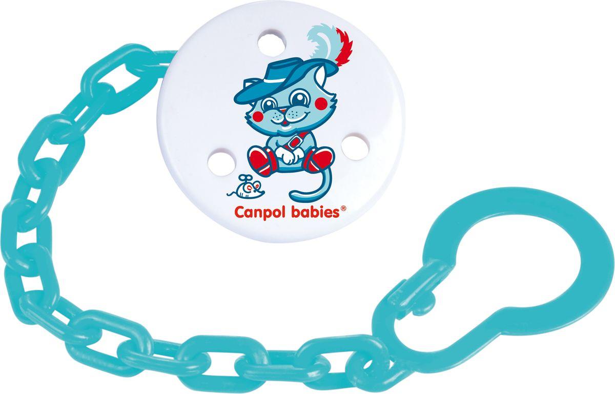 Canpol Babies Клипса-держатель для пустышки Fairy Tale цвет синий canpol babies клипса держатель для пустышки самолетик