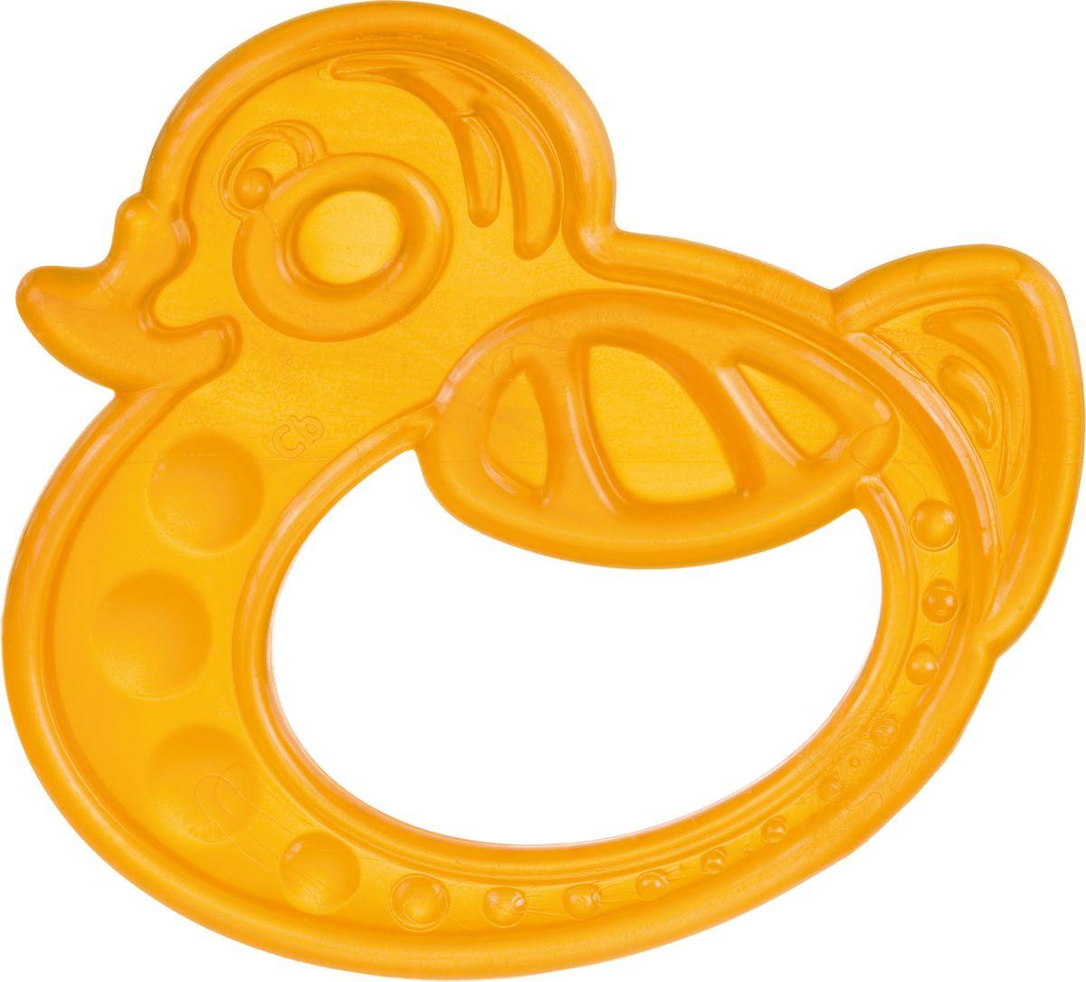 Canpol Babies Прорезыватель Уточка от 0 месяцев цвет оранжевый термометры для воды canpol уточка 2 781