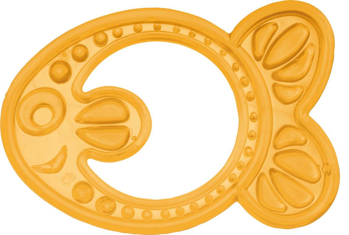 Canpol Babies Прорезыватель Рыбка цвет желтый canpol babies прорезыватель уточка от 0 месяцев цвет желтый